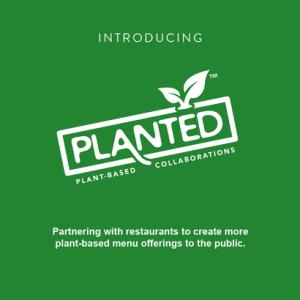 Planted Vegan Restaurant logo