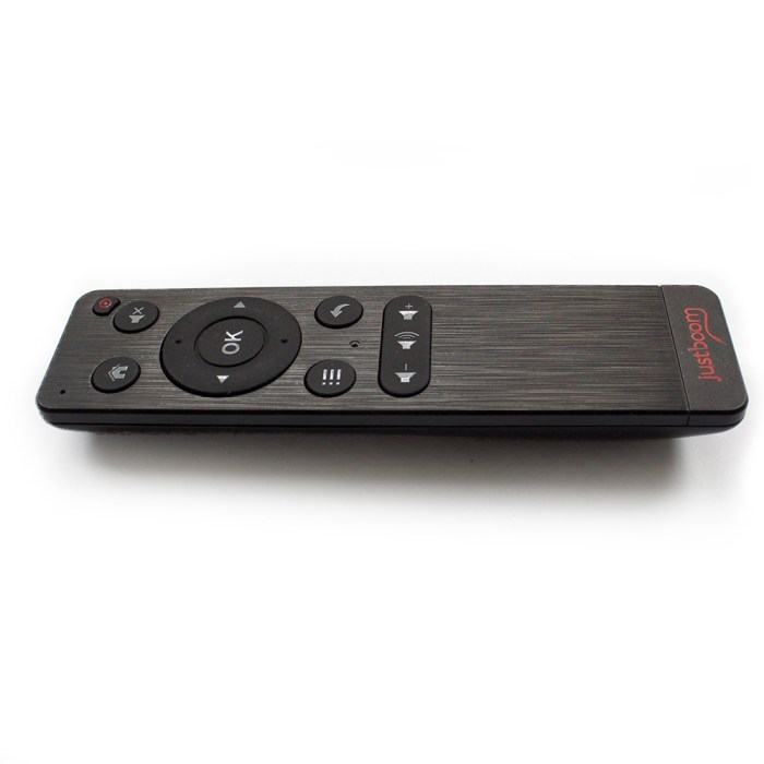 side angle - JustBoom IR Remote