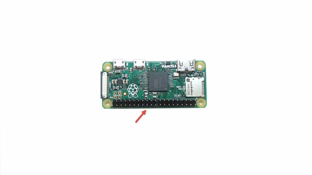 Raspberry Pi Zero with Header