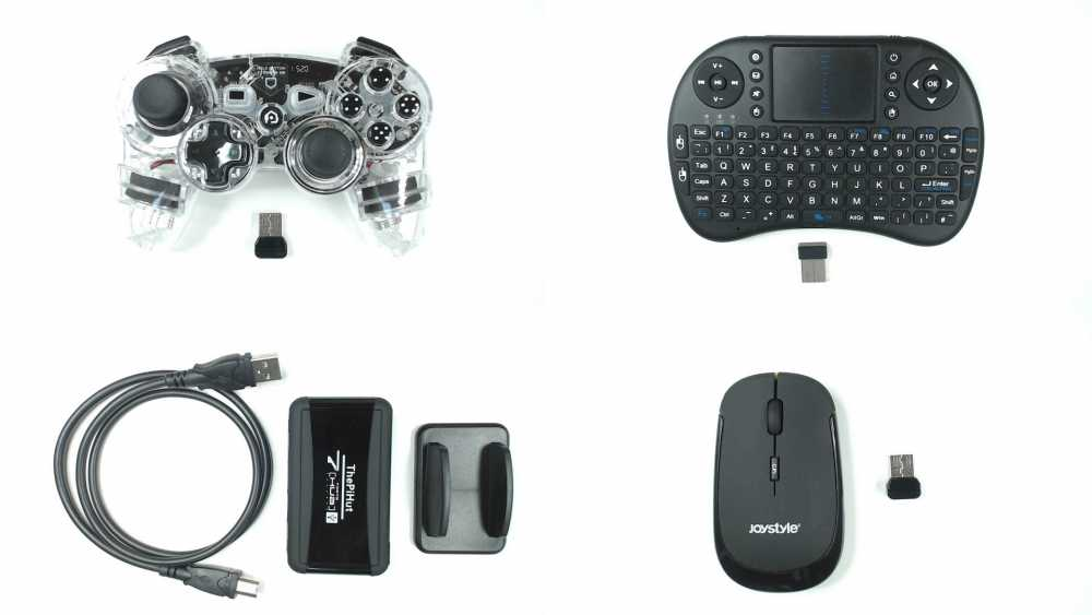Controller, Cables, Mouse, Keyboard