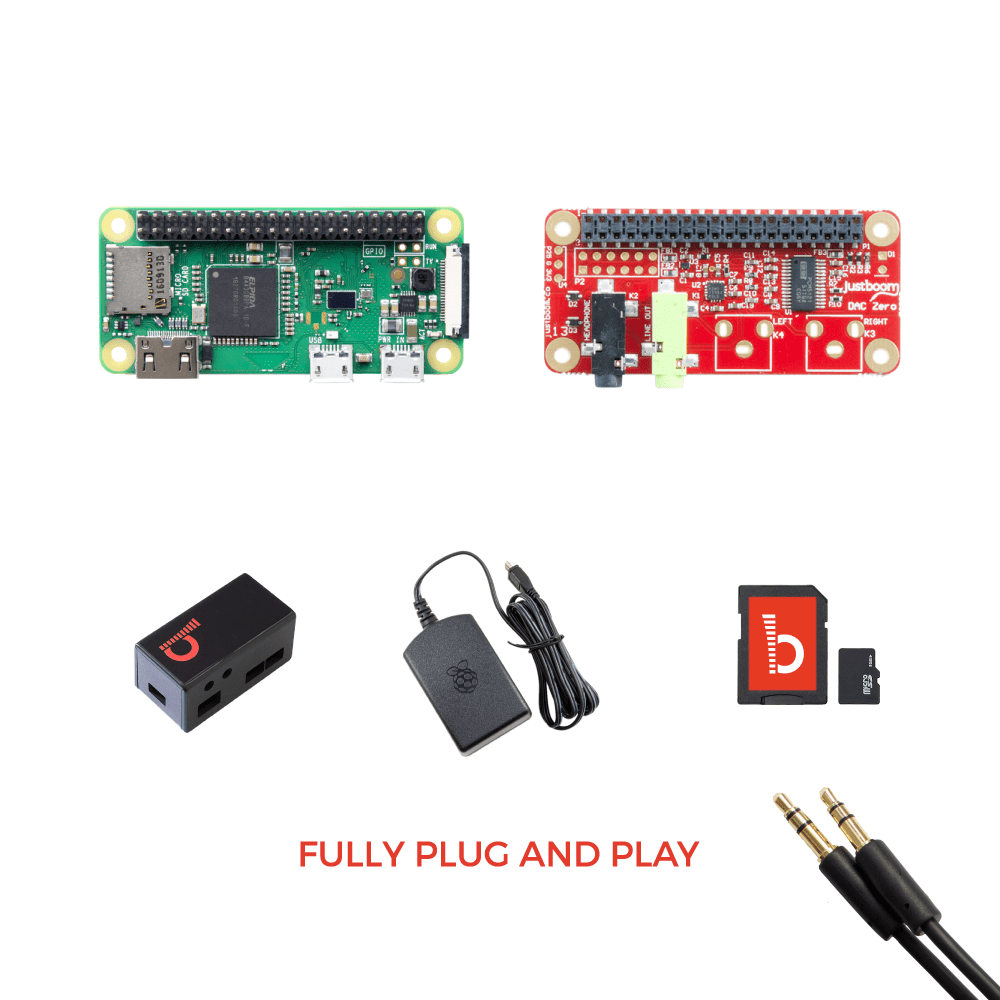 JustBoom High Quality Raspberry Pi Audio Kits • JustBoom