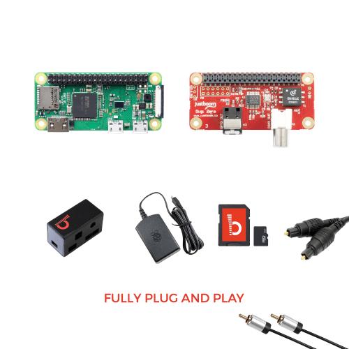 JustBoom Digi Zero Kit with Pi Zero W