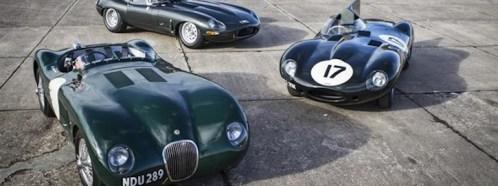 Jaguar Heritage Challenge Group Photo