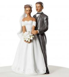 Shop   JustCakeToppers com Elegant African American Wedding Couple