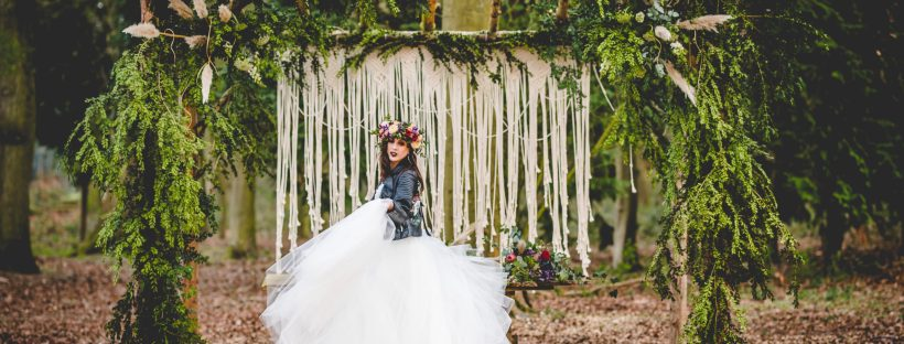 outdoor festival wedding photoshoot tabby farrar bridal