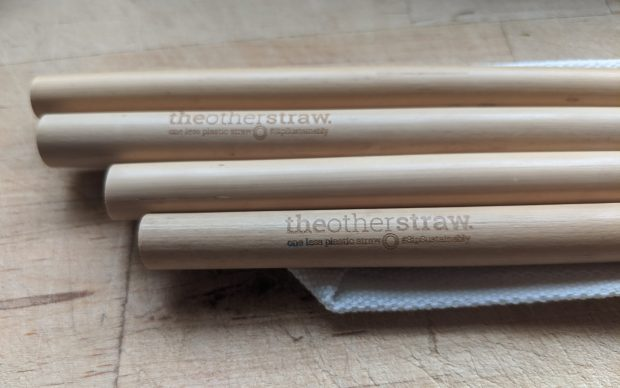 The Other Straw reusable bamboo straws customisable eco friendly