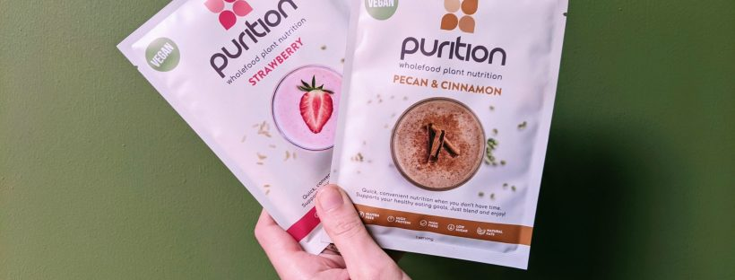 purition meal powder sachets vegan
