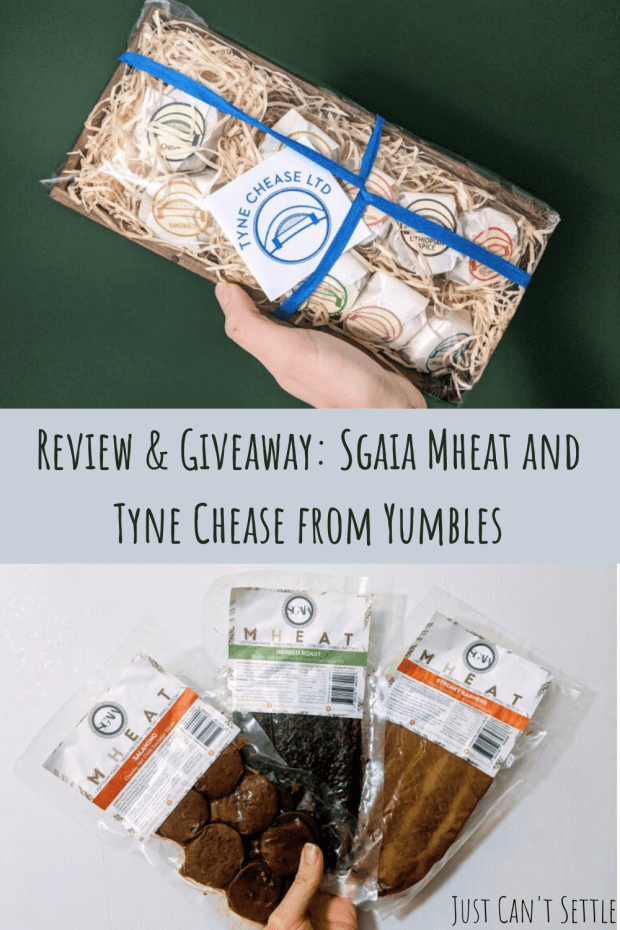 Review & Giveaway_ Sgaia Mheat and Tyne Chease from Yumbles