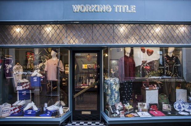working title norwich menswear shop