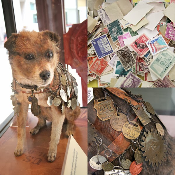 Owney at the National Postal Museum