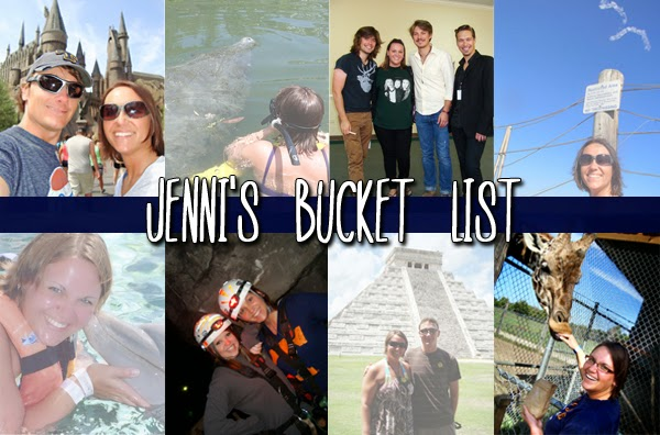 Jenni's Bucket List