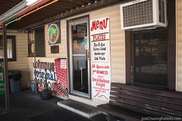 Johnnie's Drive In Tupelo, Mississippi