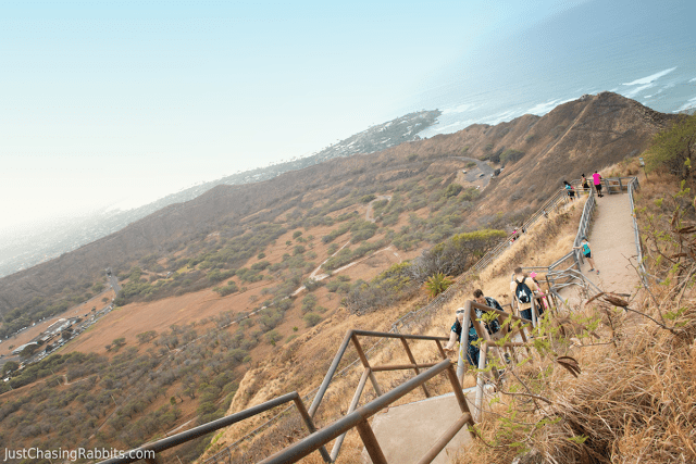 Hiking Diamond Head Crater- Oahu, Hawaii