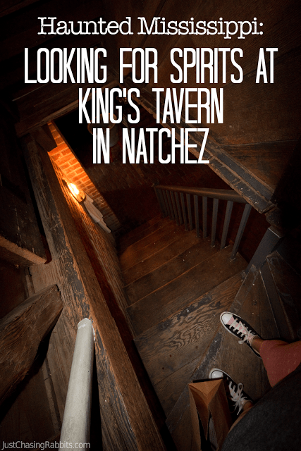 Looking for Spirits at King's Tavern in Natchez, Mississippi