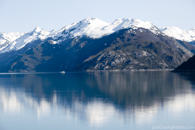 Ship in Glacier Bay