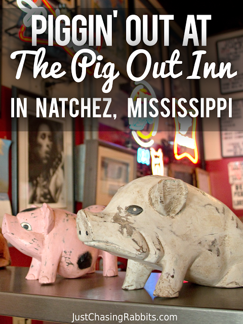 Pig Out Inn in Natchez, Mississippi