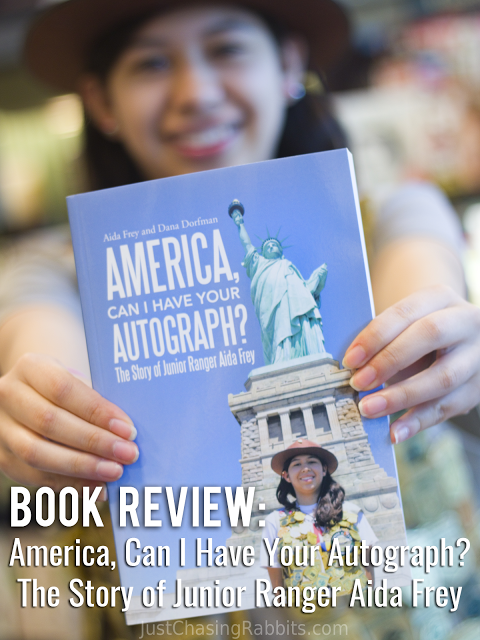 Book Review America Can I Have Your Autograph Junior Ranger Aida Frey