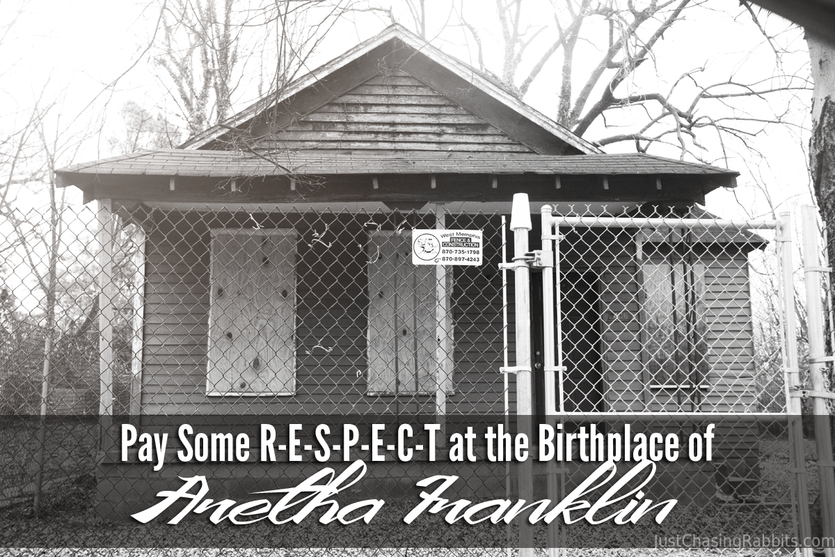 Pay Some R-E-S-P-E-C-T at the Birthplace of Aretha Franklin in Memphis, Tennessee