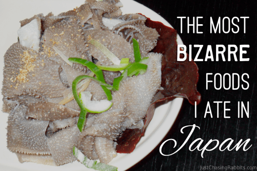 The Most Bizarre Foods I Ate in Japan