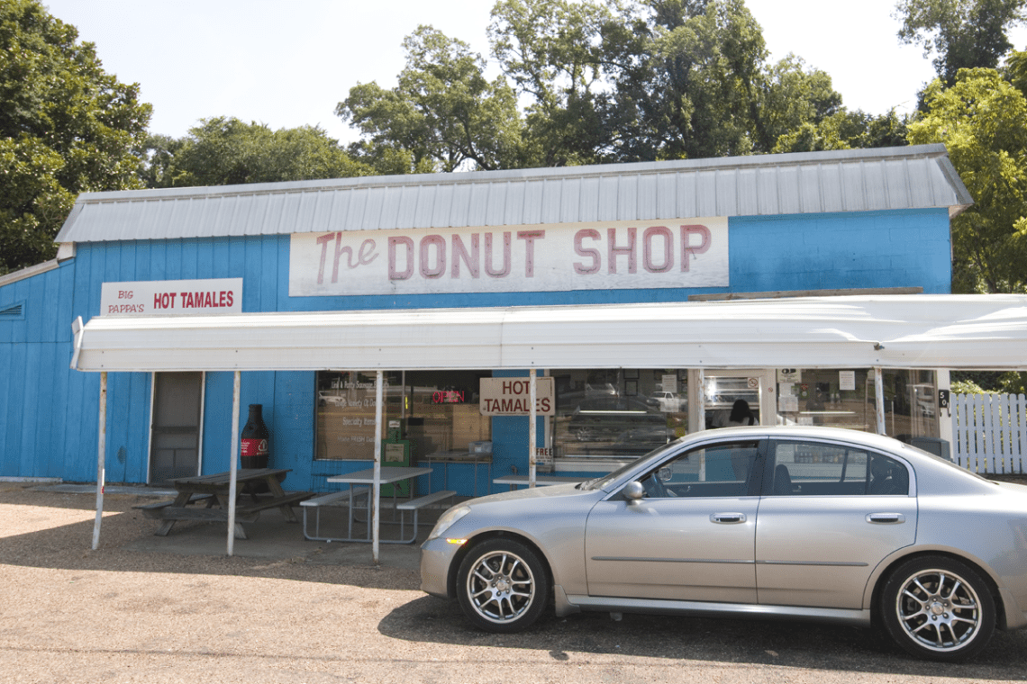 The Donut Shop is the place for doughnuts in Natchez, Mississippi.