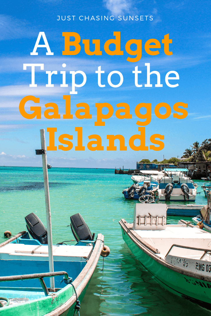 a budget trip to the Galapagos Islands