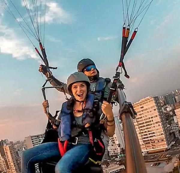 Just Jump! Paragliding in Lima, Peru