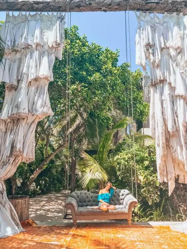 Relaxing at Casa Malca
