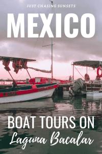 boat tours on laguna bacalar