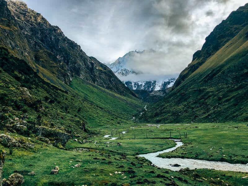 Valley Leading to Salkantay
