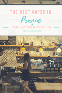 Pinterest Image for the Best Cafes in Prague