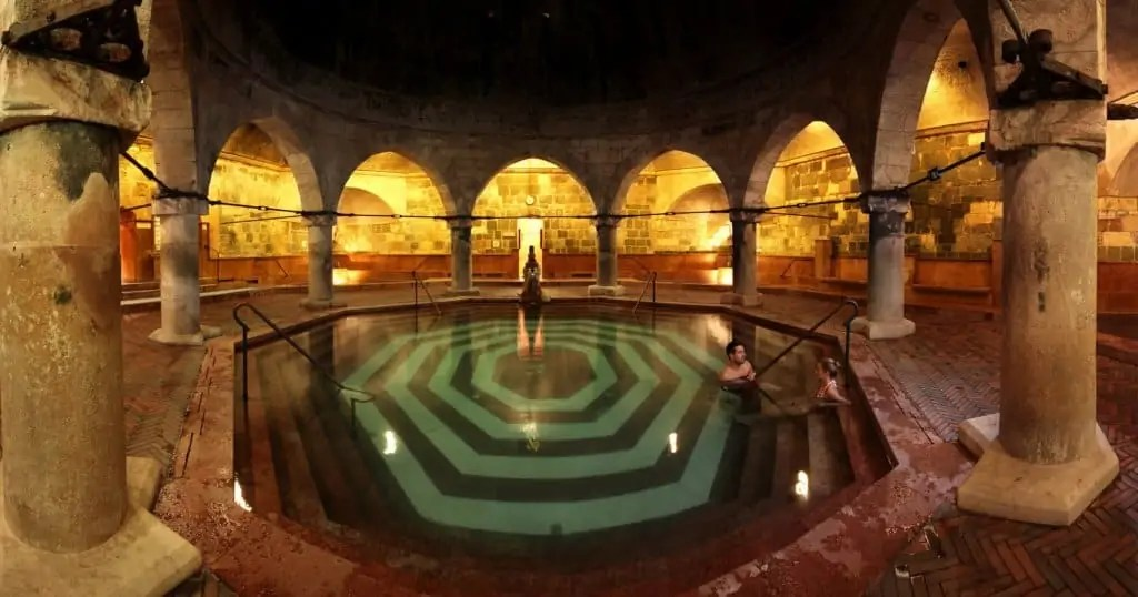 Image of the Turkish bath found on Pink Budapest