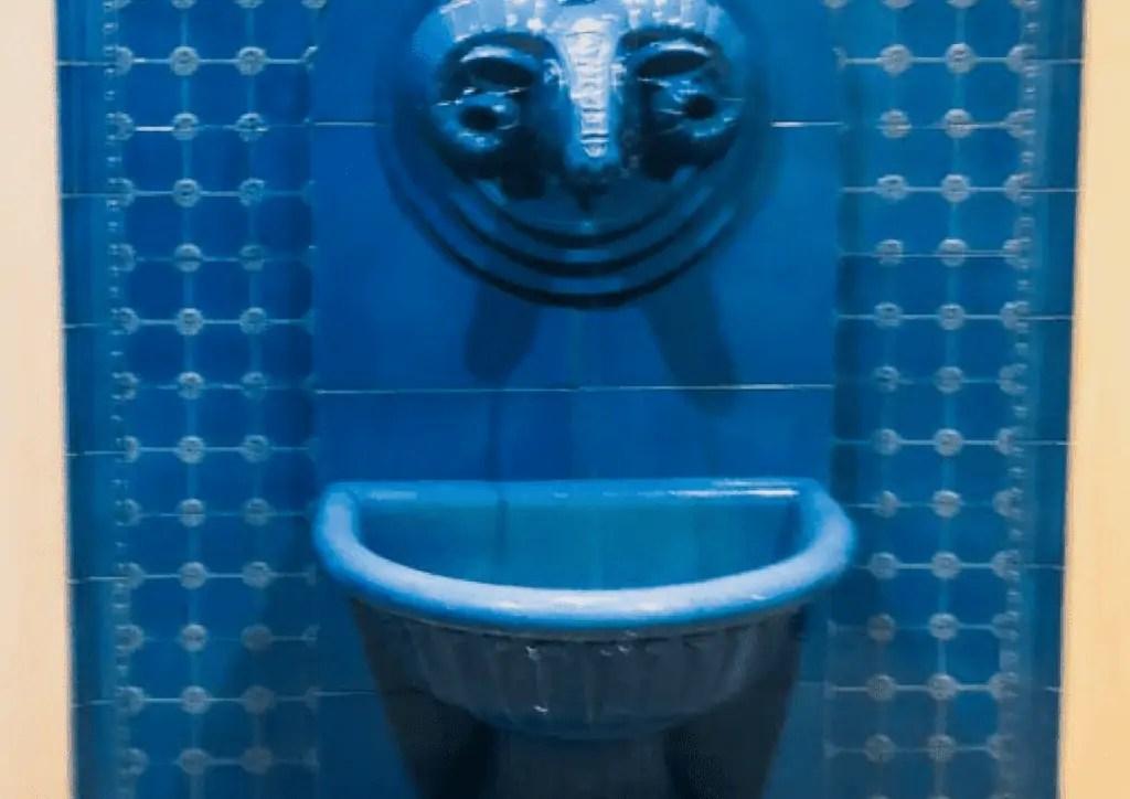 Drinking Fountain at Rudas Baths