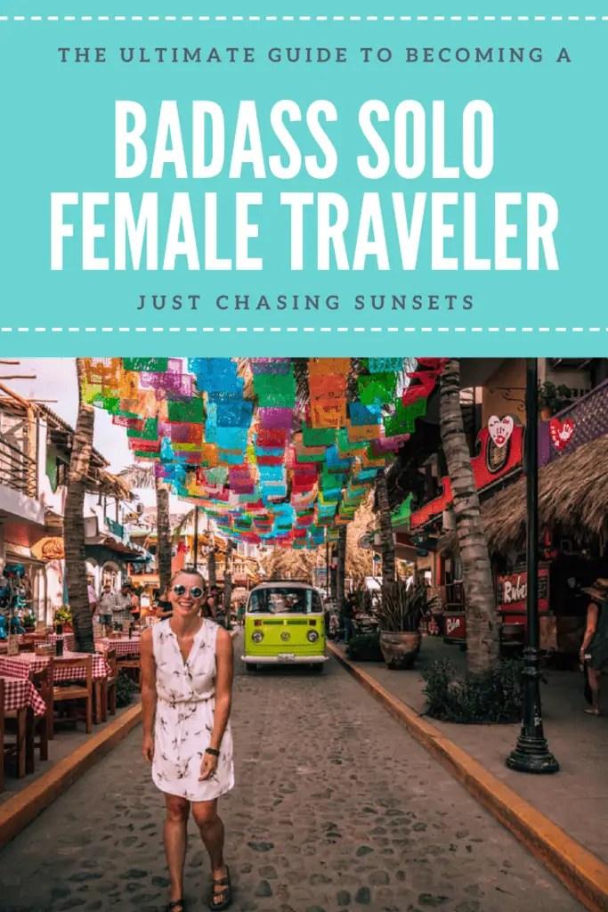 Solo Female Travel Pin Image