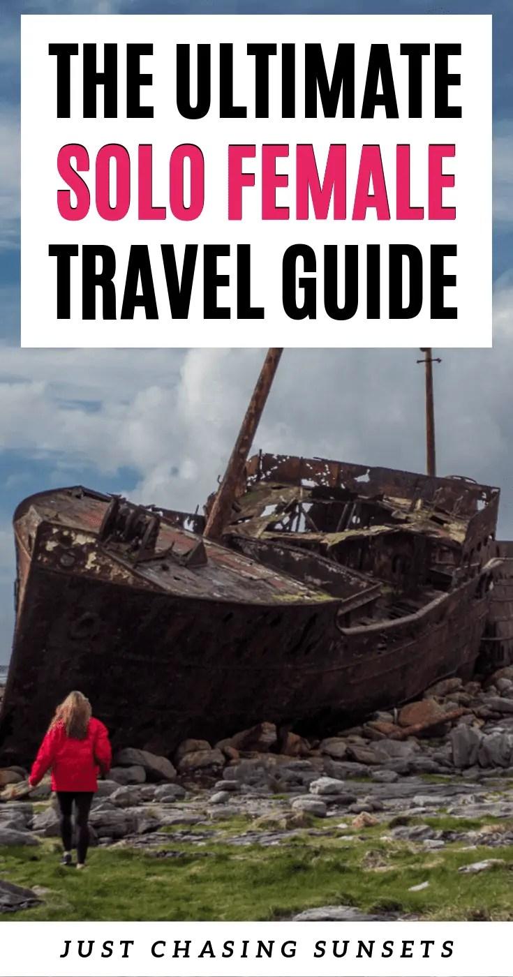 Solo female travel guide