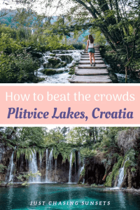 Beat the Crowds at Plitvice Lakes
