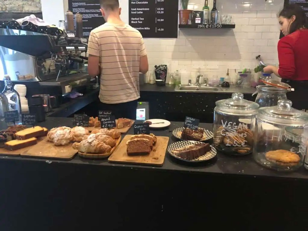 Pastry Counter at Coffee Club Galway
