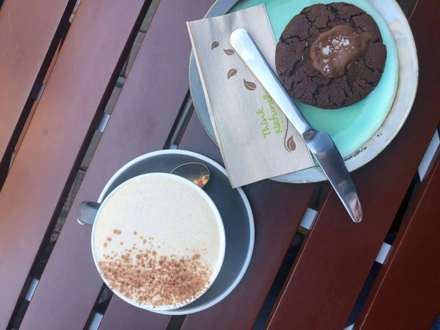 Chai and Chocolate cookie from The Little Lane Coffee Company in Galway Ireland