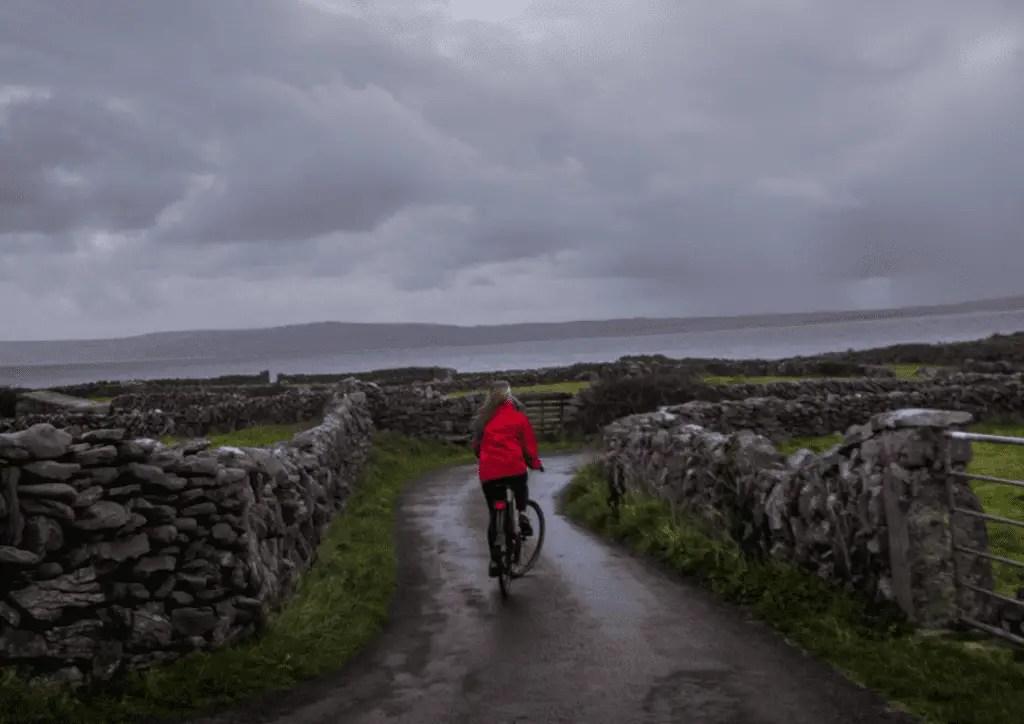 bike riding the aran islands