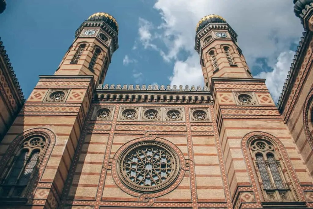dohaney street synagogue in Budapest