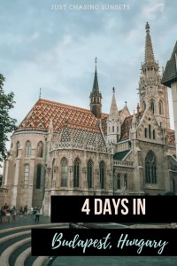 A detailed guide about how to spend 4 days in Budapest, Hungary. This 4 day Budapest Itinerary will help you see all of the sites in Budapest!
