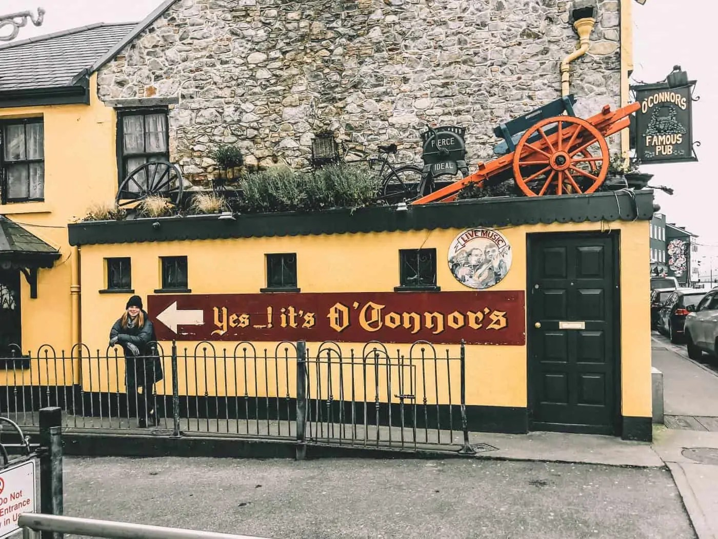Galway Pub: O'Connor's