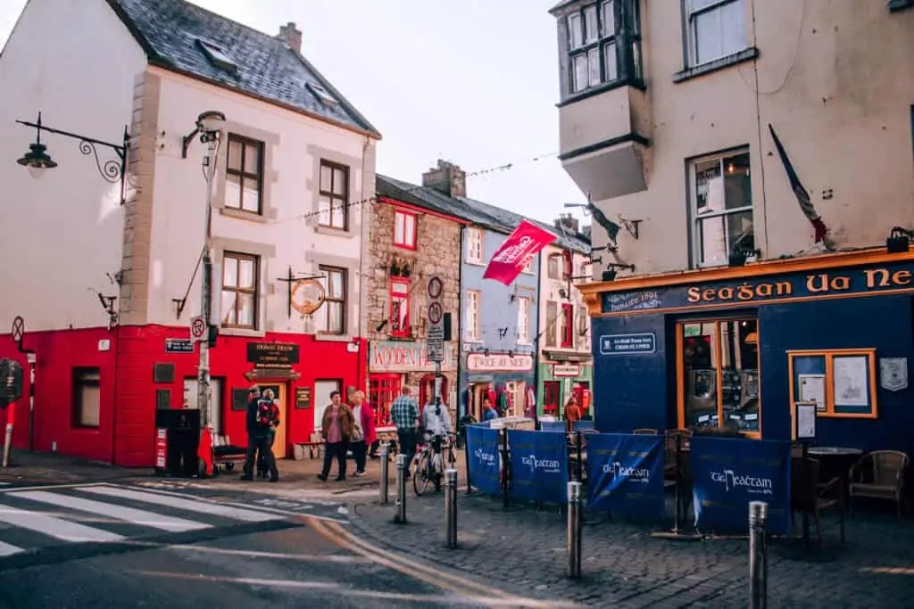 Galway's Latin Quarter