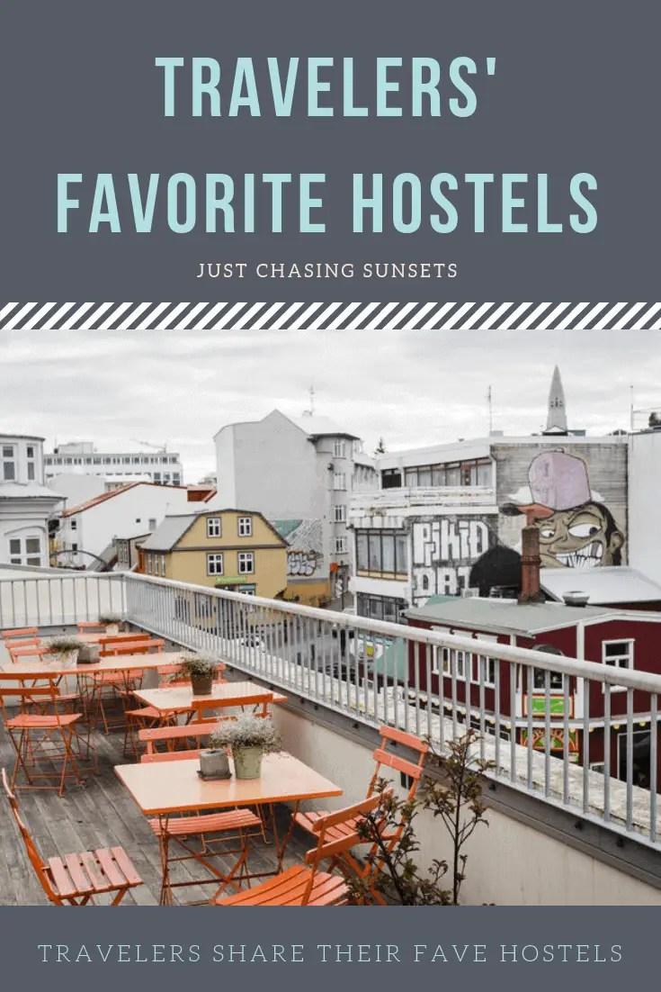 hostel reviews pinterest image