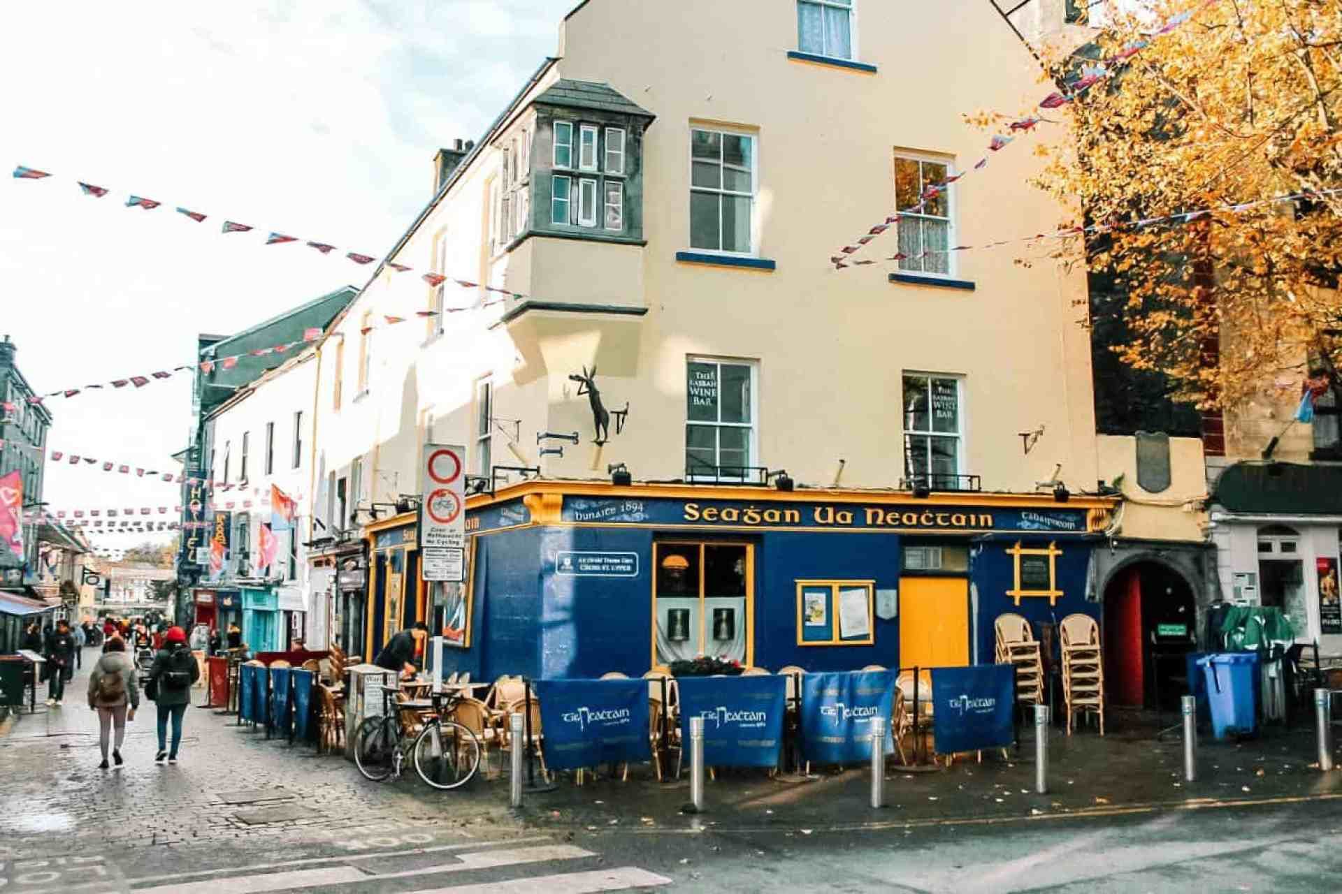 Tig Neachtain's Pub in Galway's Latin Quarter