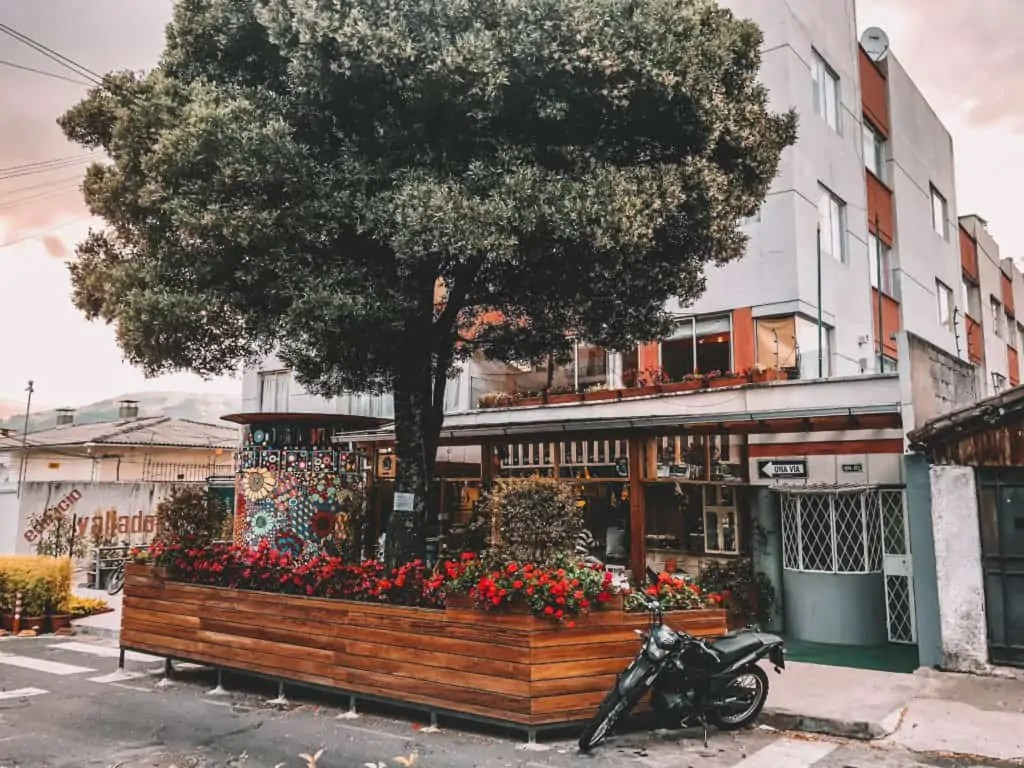 Ocho y Medio Theatre and Cafe in La Floresta