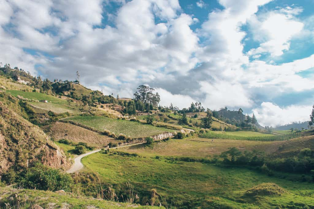 Ecuador's Countryside on the Quilotoa Loop