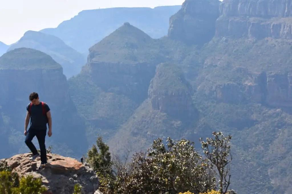 Matt Kepnes on a mountain top