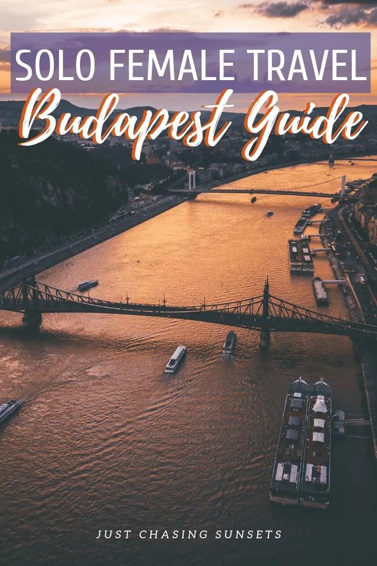 solo female travel Budapest Guide