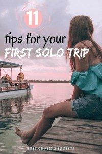 11 tips for your first solo trip