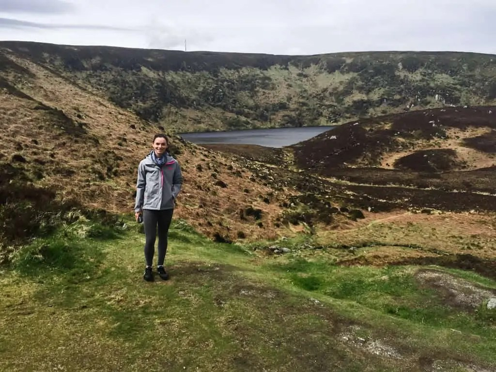 Me in Ireland on a tour on my first solo trip